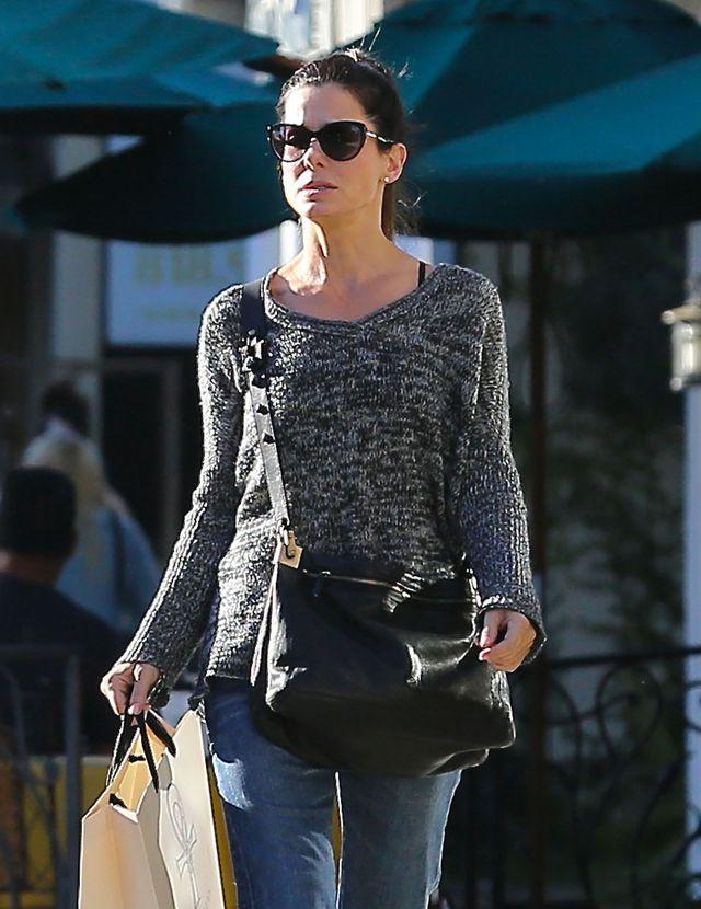 Sandra Bullock skromna na co dzień (FOTO)