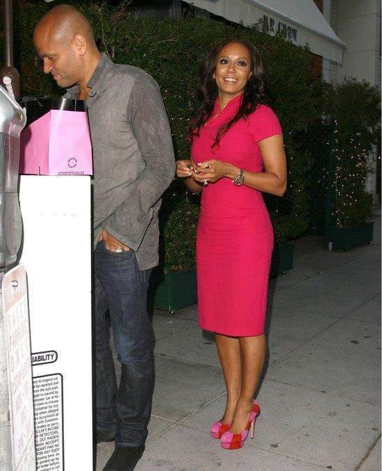 Melanie B na randce z mężem (FOTO)
