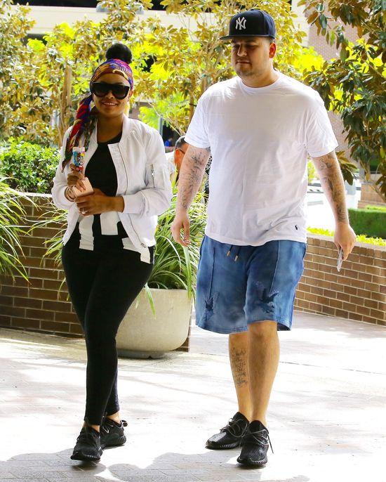 Czy Rob Kardashian i Blac Chyna wzięli ŚLUB w TAJEMNICY?! (FOTO)