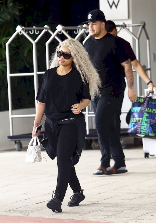 Rob Kardashian i Blac Chyna nazw� c�rk� na cze��Kim Kardashian?!
