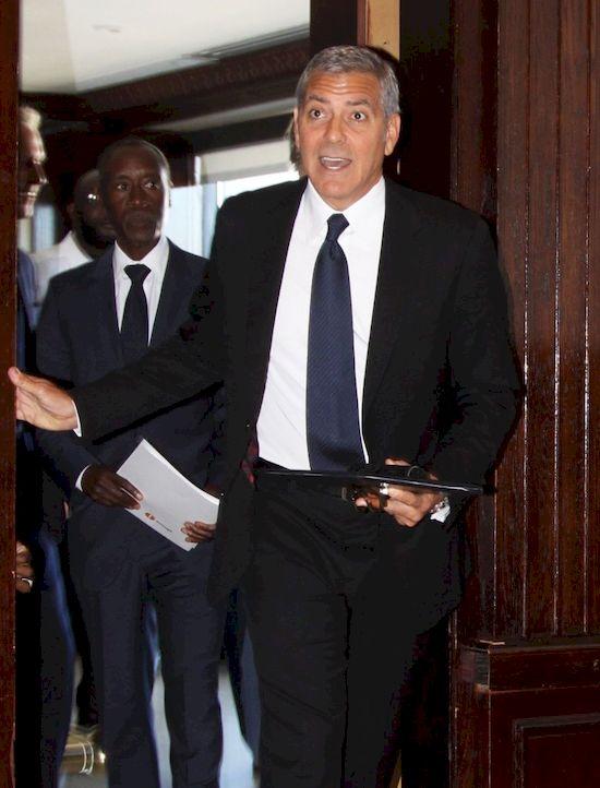 George Clooney w szoku po informacji o rozwodzie Angeliny Jolie i Brada Pitta