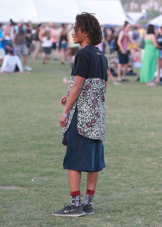 Jaden Smith znów nosi sukienkę (FOTO)