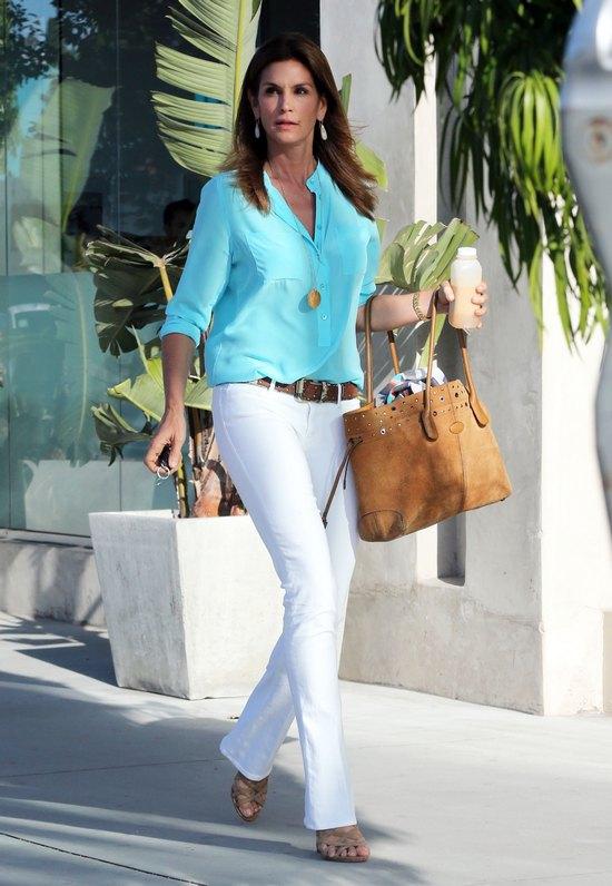 Cindy Crawford nigdy się nie zestarzeje? (FOTO)