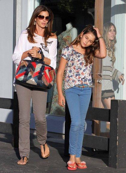 Cindy Crawford z córką - podobne? (FOTO)