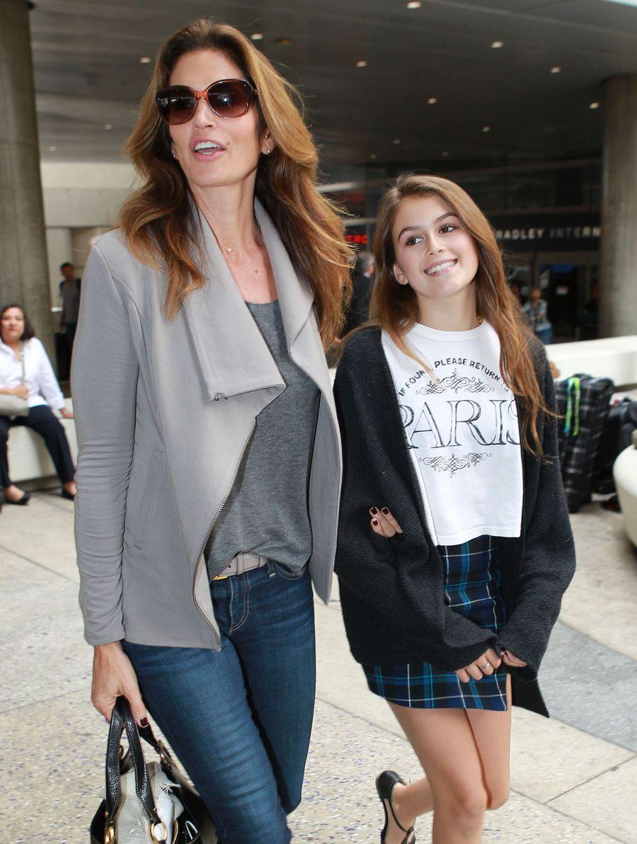 13-letnia Kaia Gerber w pierwszej sesji dla Teen Vogue FOTO
