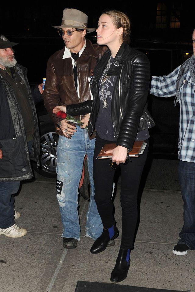 Narzeczona Johnny'ego Deppa przejmuje jego styl? (FOTO)