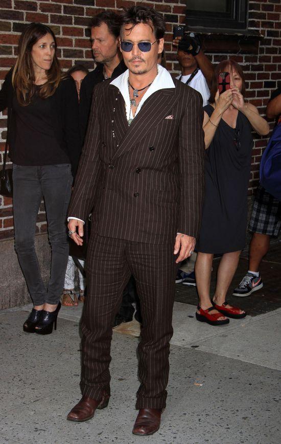 Johnny Depp nie nosi bielizny