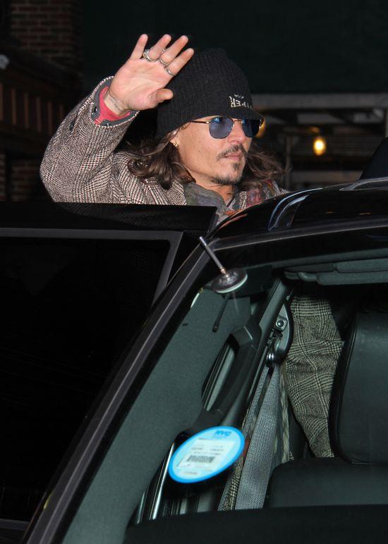Johnny Depp trochę jak lump (FOTO)