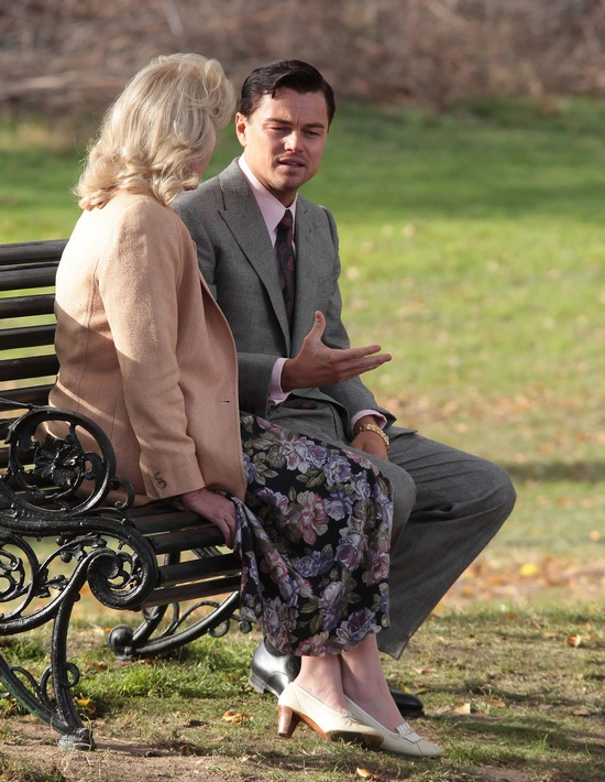 DiCaprio nie chciał pocałować 66-letniej aktorki na planie!
