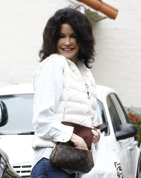 Janice Dickinson dziś ma uśmiech Jokera (FOTO)
