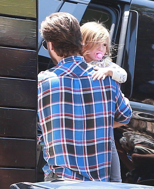 Scott Disick spotkał się z dziećmi (FOTO)