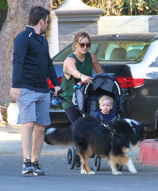 Hilary Duff z rodzinką w komplecie (FOTO)