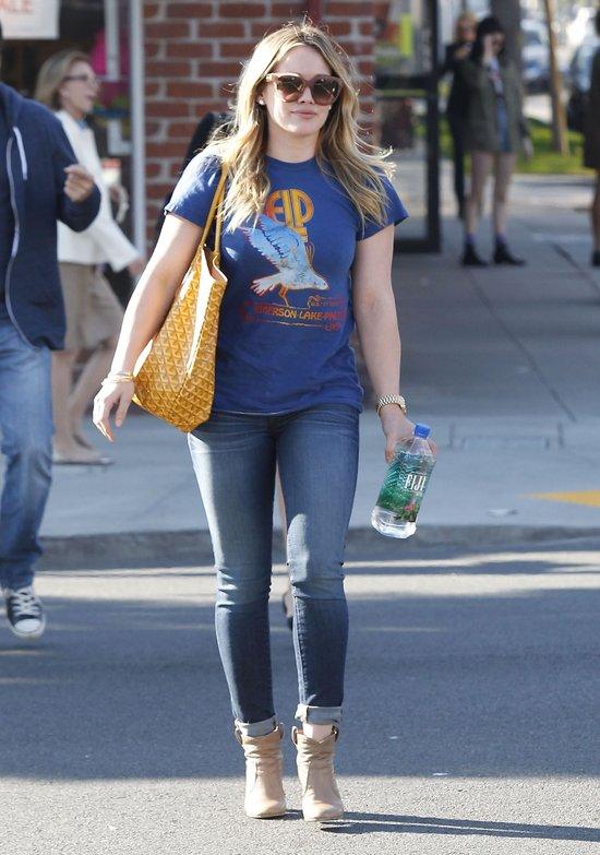 Hilary Duff coraz bliżej sylwetki idealnej (FOTO)