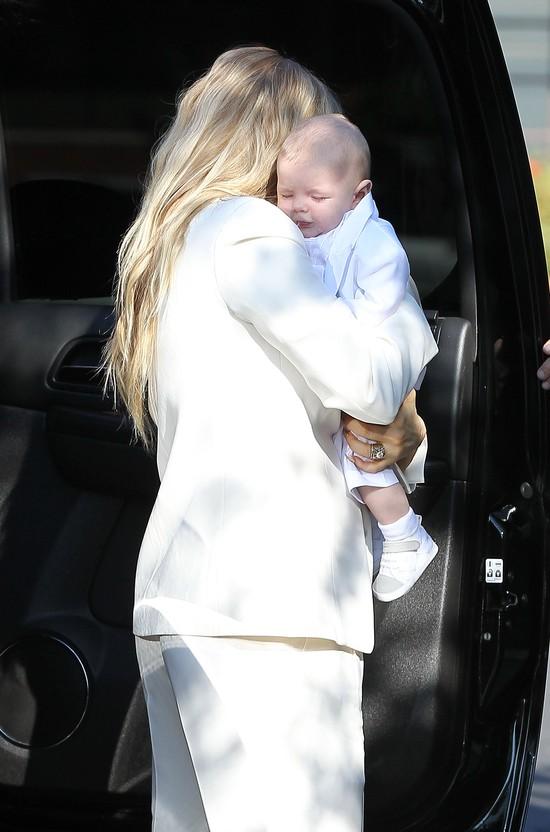 Fergie chwali się synkiem Axlem (FOTO)