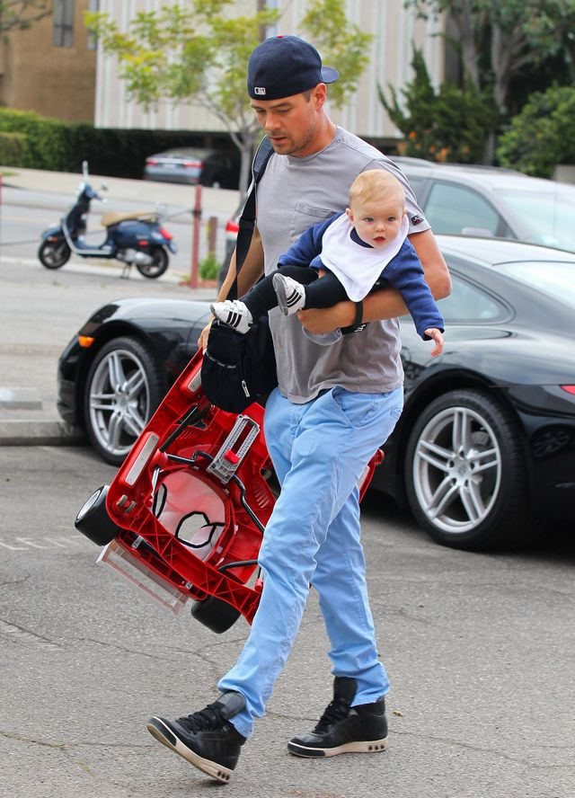 Josh Duhamel Son Axl Isnt a Baby Anymore!  Peoplecom