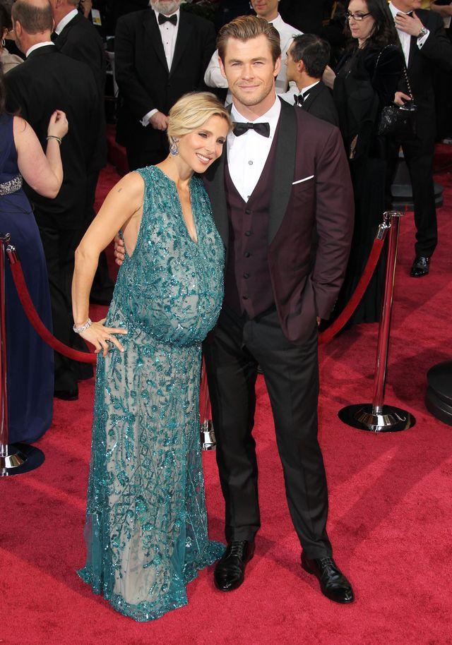 Ciążowy brzuch Elsy Pataky WYŚMIANY przez Fashion Police