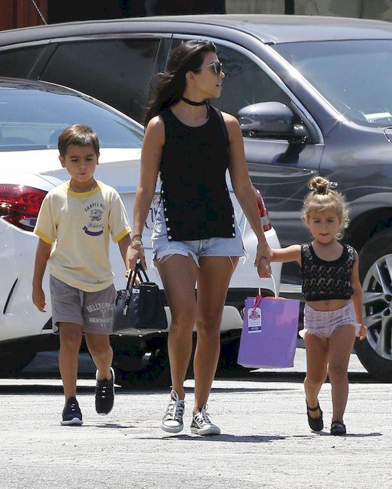Wow! Kourtney Kardashian m�wi o... �lubie ze Scottem Disickiem!
