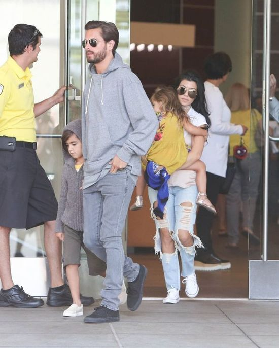 Scott Disick i Kourtney Kardashian znowu si� spotykaj�? (FOTO + VIDEO)
