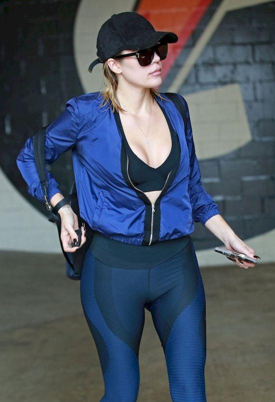 Khloe Kardashian znowu schudła! (FOTO)