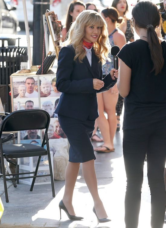 Kourtney Kardashian jest... BLONDYNKĄ?! Co za zmiana! (ZDJĘCIA)