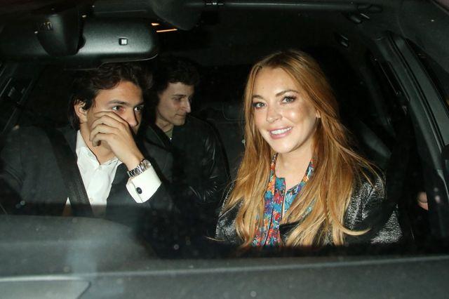 Szok! Lindsay Lohan dalej spotyka się z damskim bokserem?