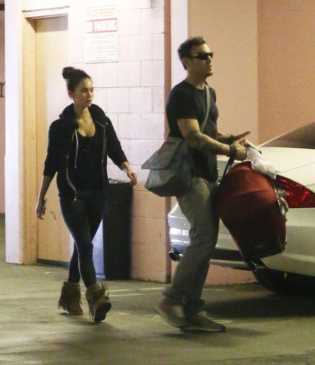 Megan Fox wygl�da �wietnie par� miesi�cy po porodzie (FOTO)