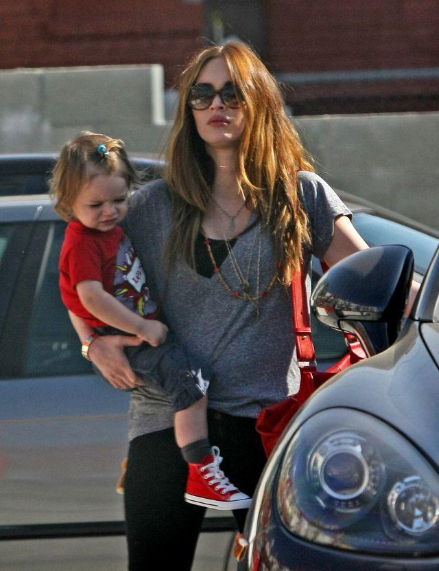 Megan Fox ze starszym synkiem Noah (FOTO)