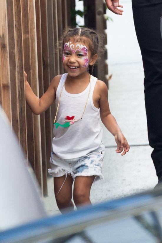 Kim Kardashian udostępniła uroczy film z  North West i córką Kourtney Kardashian