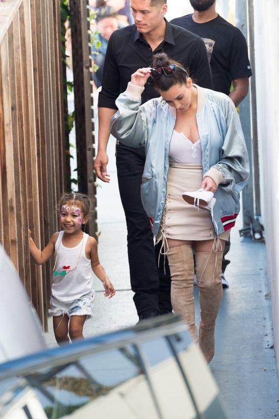 Kim Kardashian udostępniła uroczy filmik z North West (VIDEO)