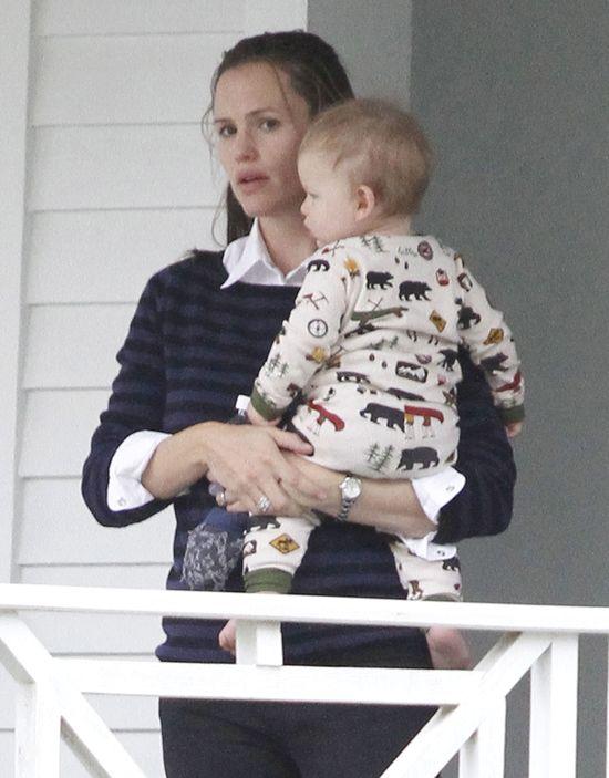 Mały Samuel Affleck to cała mama (FOTO)