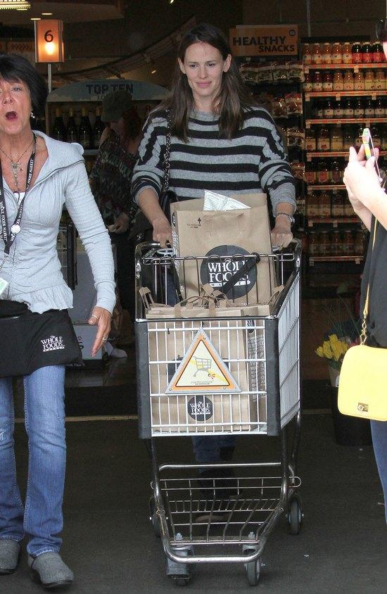 Jennifer Garner bez makijażu (FOTO)