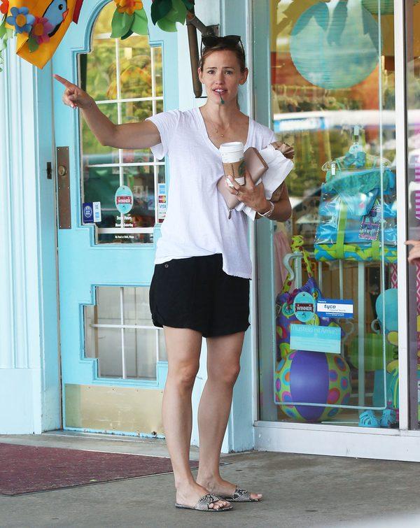 Jennifer Garner nie daje po sobie pozna�, �e ma kryzys