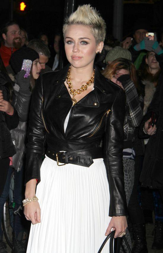 Miley Cyrus na Tygodniu Mody w Nowym Jorku (FOTO)