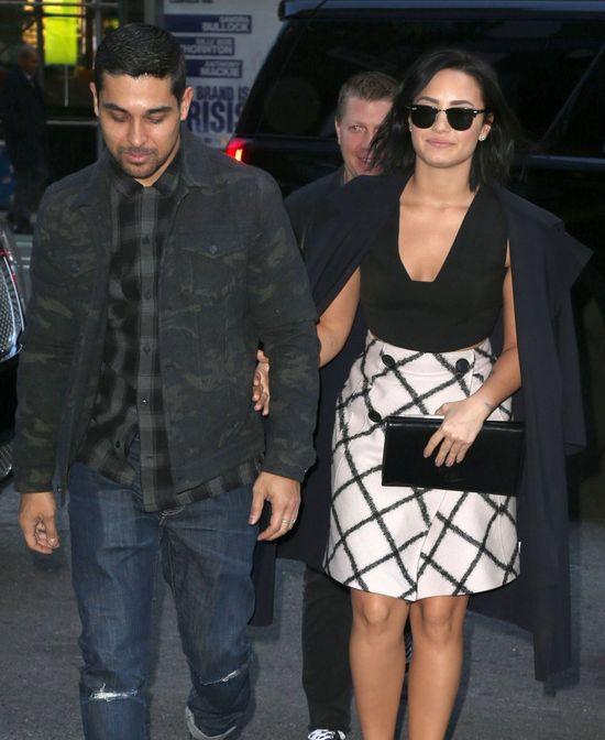 Demi Lovato nie ukrywa radości po rozstaniu z Wilmerem Valderramą!