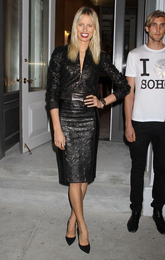Gwiazdy na otwarciu butiku Versace (FOTO)