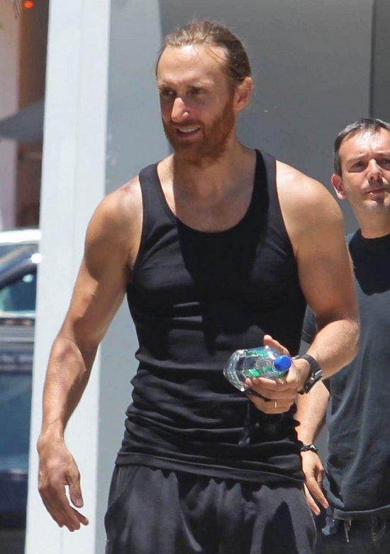 Davis Guetta z żoną (FOTO)
