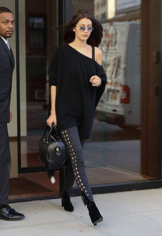 NAGA Bella Hadid w najnowszym Vogue! Gigi Hadid może być dumna?