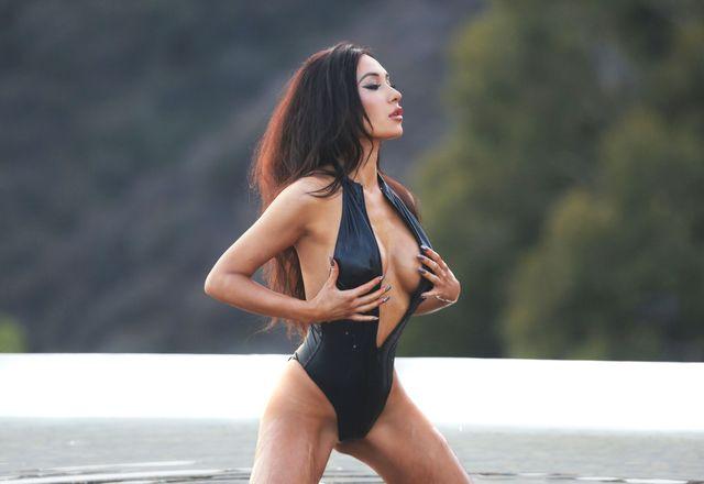 Kea Ho w gorącej sesji na plaży w Malibu (FOTO)