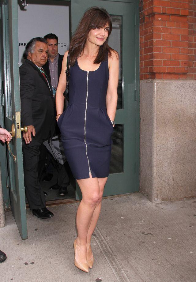 Katie Holmes nadal nie potrafi się ubrać (FOTO)
