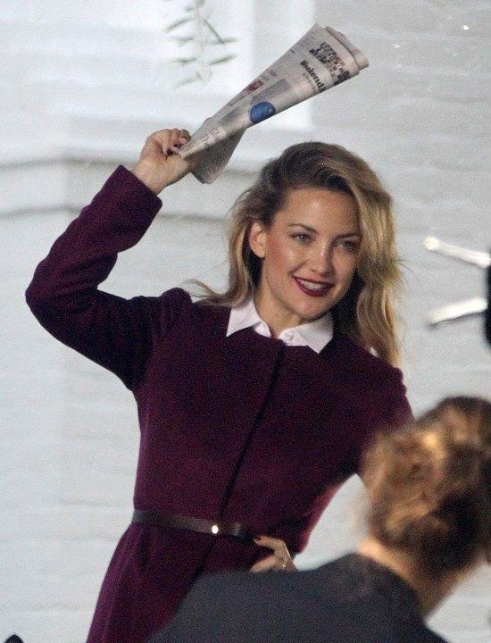 Kate Hudson z dzieciakami podczas sesji zdjęciowej (FOTO)