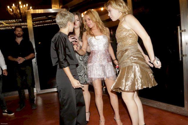 Lindsay Lohan do swoich gości: Zamknąć k***a mordy! (VIDEO)