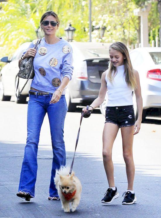 Córka Heidi Klum jest jej wierną kopią! (FOTO)