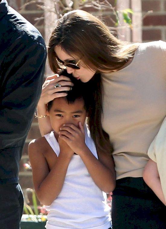 Shiloh ma doskonały plan na zjednoczenie Angeliny Jolie i Brada Pitta