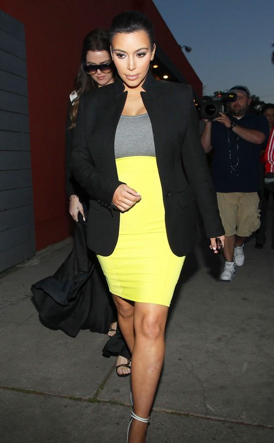 Kim Kardashian: Na pewno dużo przytyję w ciąży