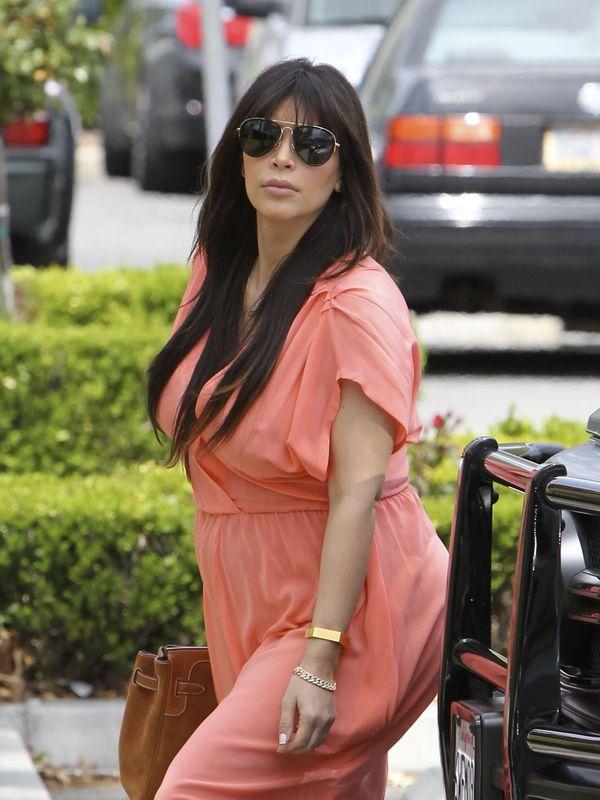 Kim Kardashian w kościele z rodziną (FOTO)