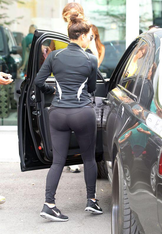 Pupa Kim Kardashian wita nowy dzień (FOTO)