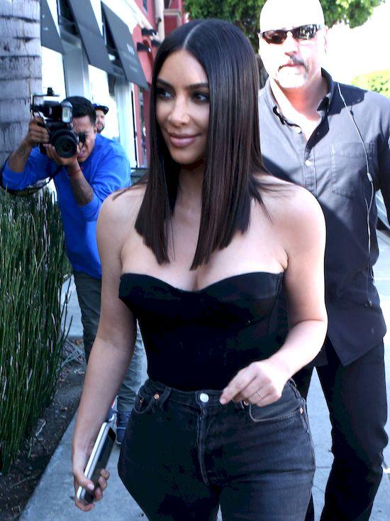 Kim Kardashian już tak NIE wygląda! (ZDJĘCIA)