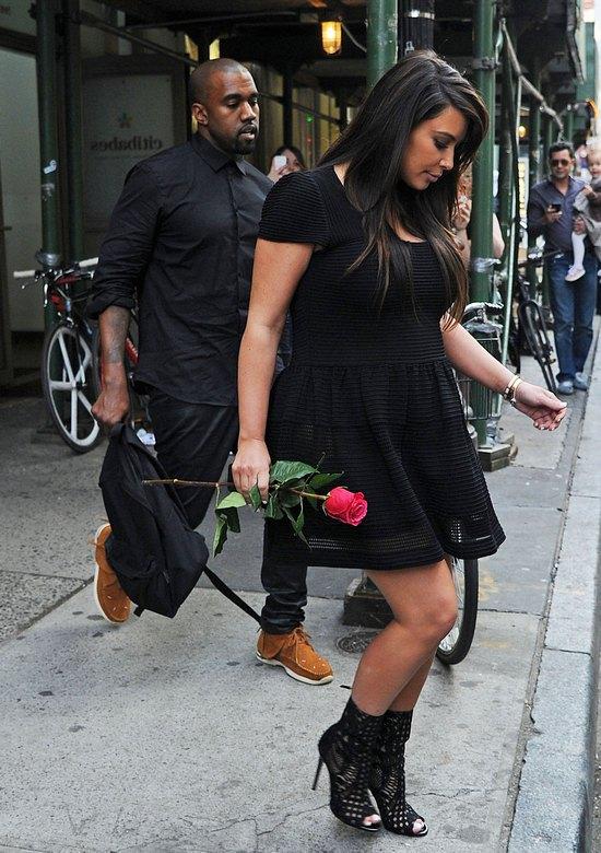 Romantyczne wyjście Kim Kardashian i Kanye Westa (FOTO)