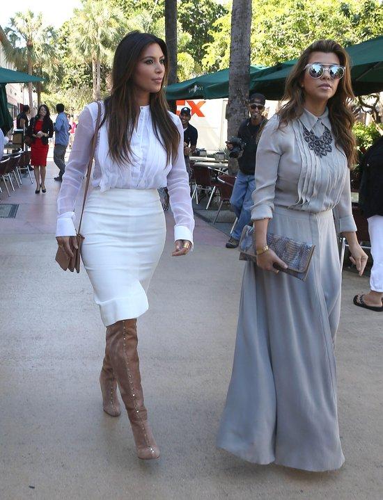 Kim Kardashian uciek�a prze huraganem do Miami (FOTO)