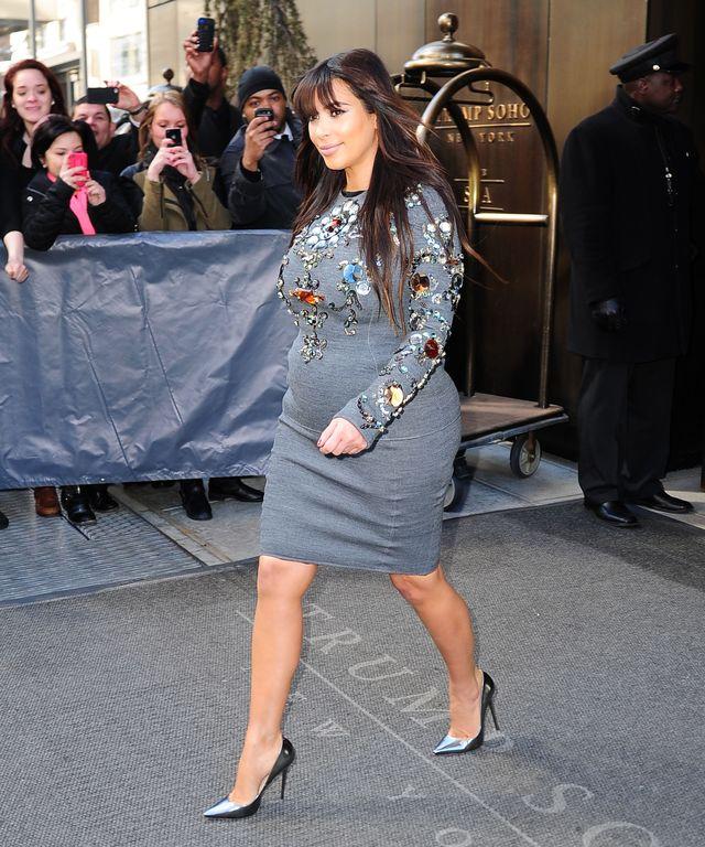 Kim Kardashian tyje, by potem zarobić na chudnięciu?